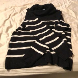 Old navy striped turtleneck sweater